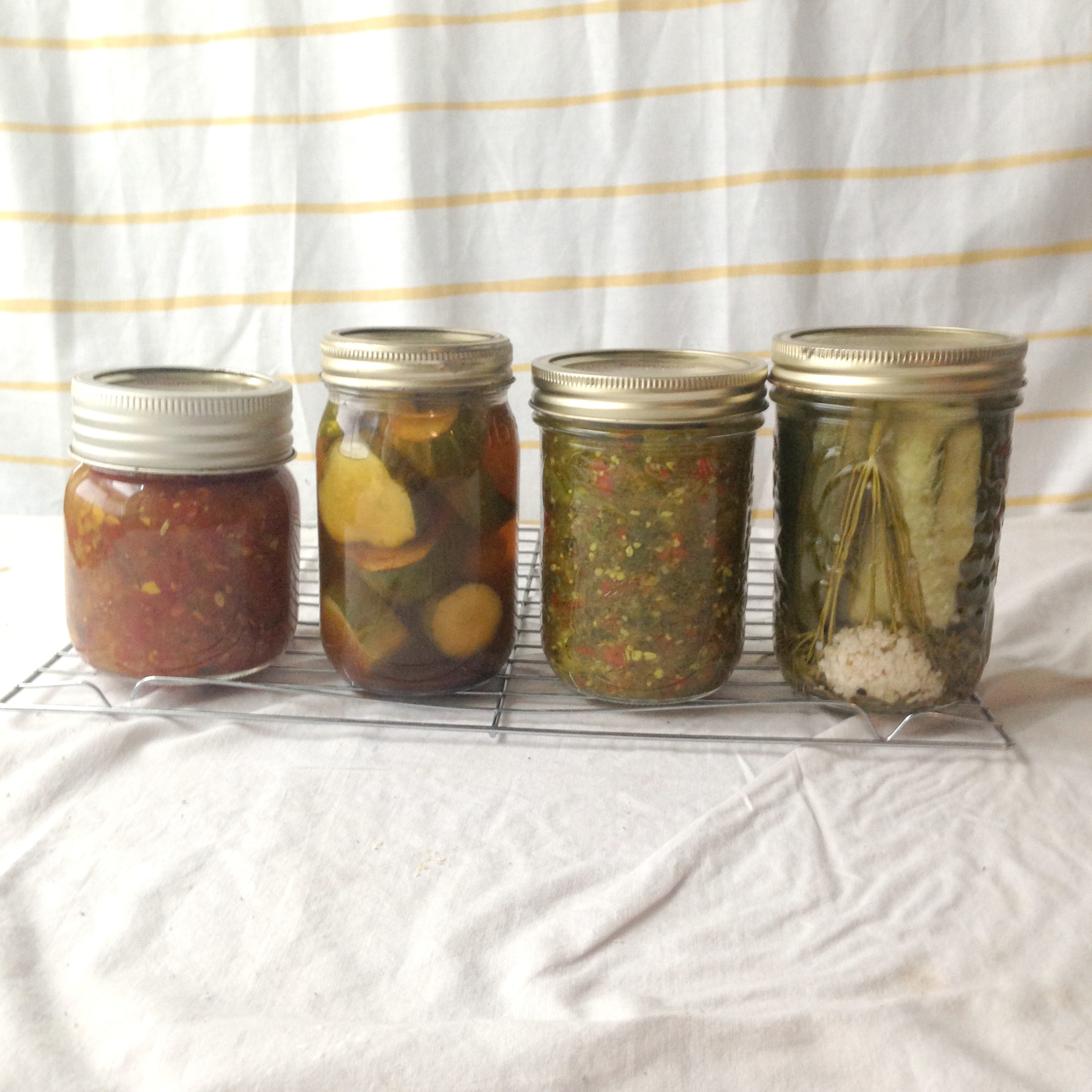 red relish, relish, canning, pickles, pickling, cucumbers