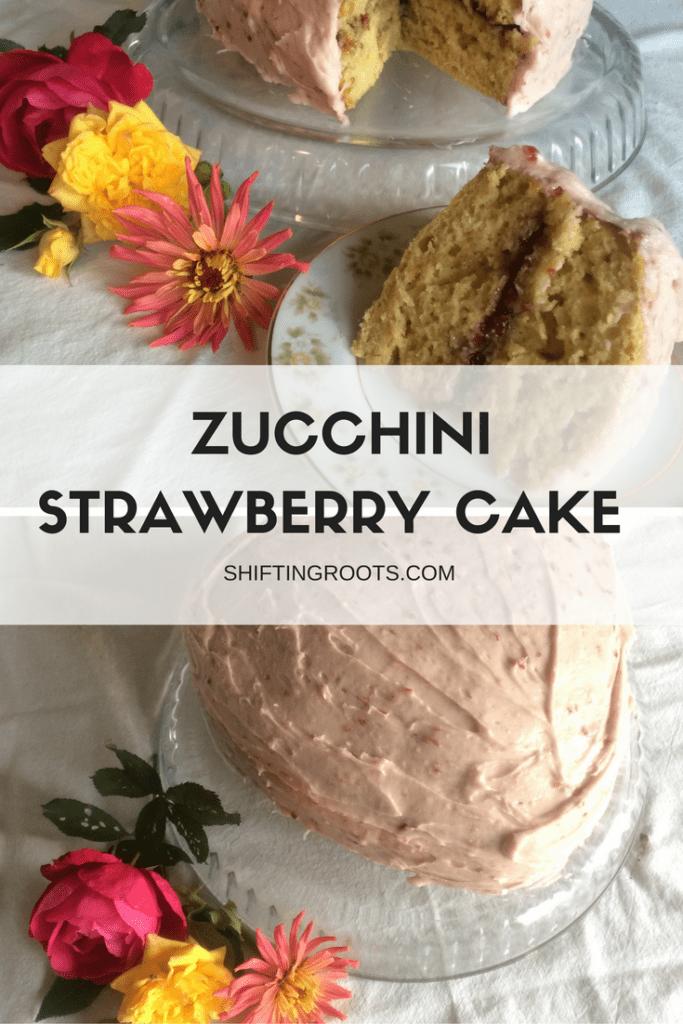 zucchinistrawberry-cake