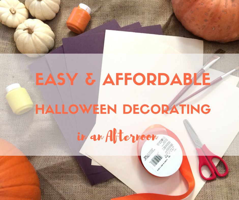 halloween, decorating, easy, affordable, quick, cheap