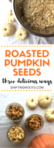 Making pumpkin seeds is easier than you think! Delicious, nutritious, and perfect for your next snack. Roast them or bake them and sprinkle with salt, sugar, cinnamon and a variety of other spices. #pumpkin #pumpkin seeds #healthysnacks #pumpkinrecipes