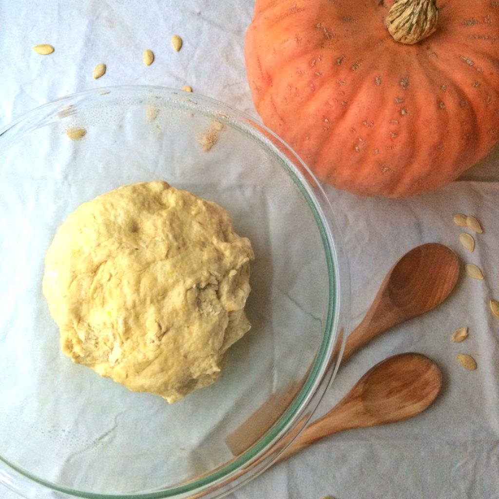 Pumpkin bread, pumpkin dough, pumpkin, pumpkin seeds, healthy recipe