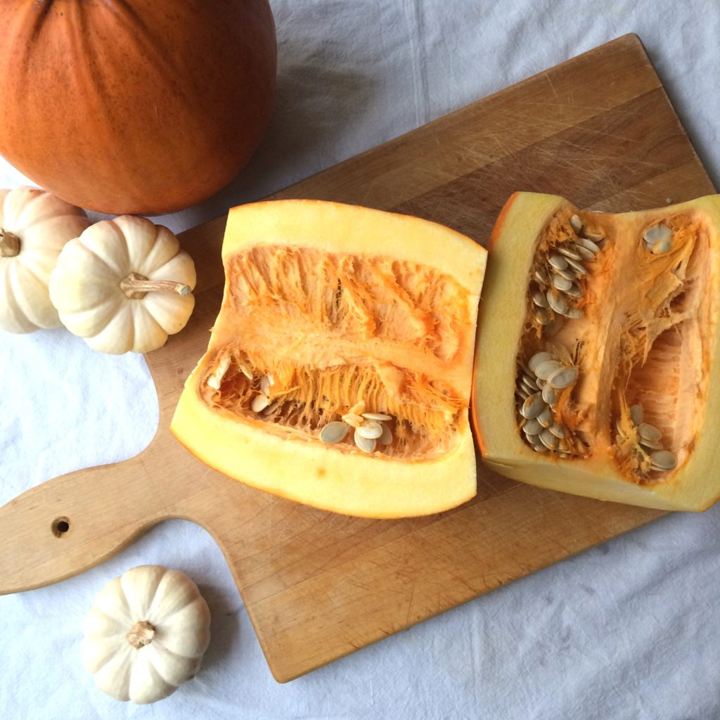 Save money by making your own pumpkin puree.  I'll show you how to make it.  Then you can use it for healthy recipes, in soup, dessert, cookies, muffins, pancakes, or even as baby food! #pumpkin #puree #healthy #preserving #garden #canning #pumpkins #DIY