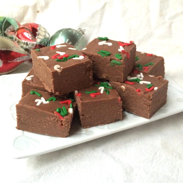 Easy & Delicious Christmas Fudge
