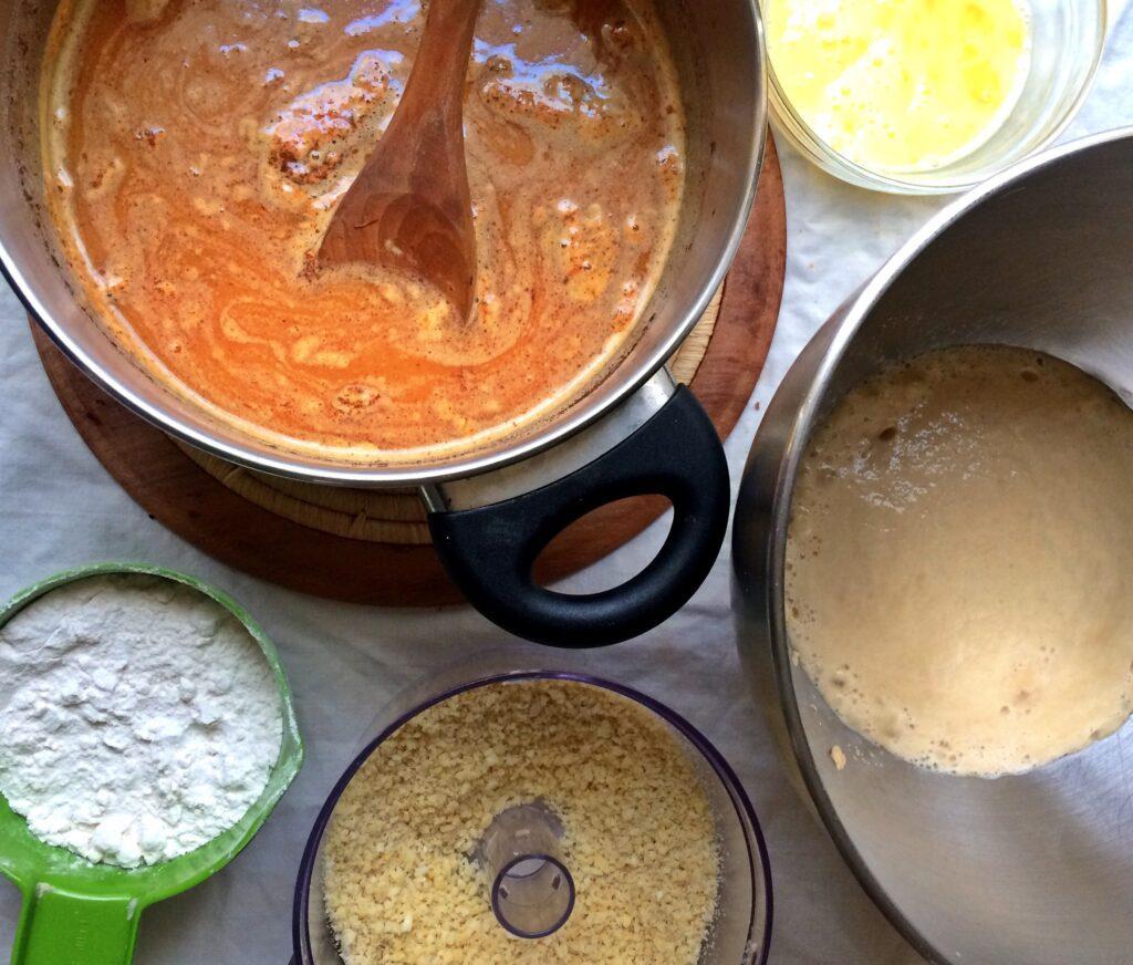 St. Lucia bun ingredients