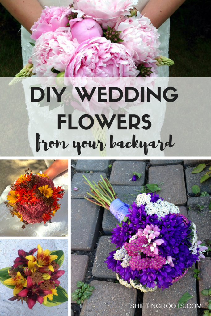 DIY Wedding Flowers From Your Backyard