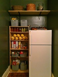 Kitchen decluttering reveal