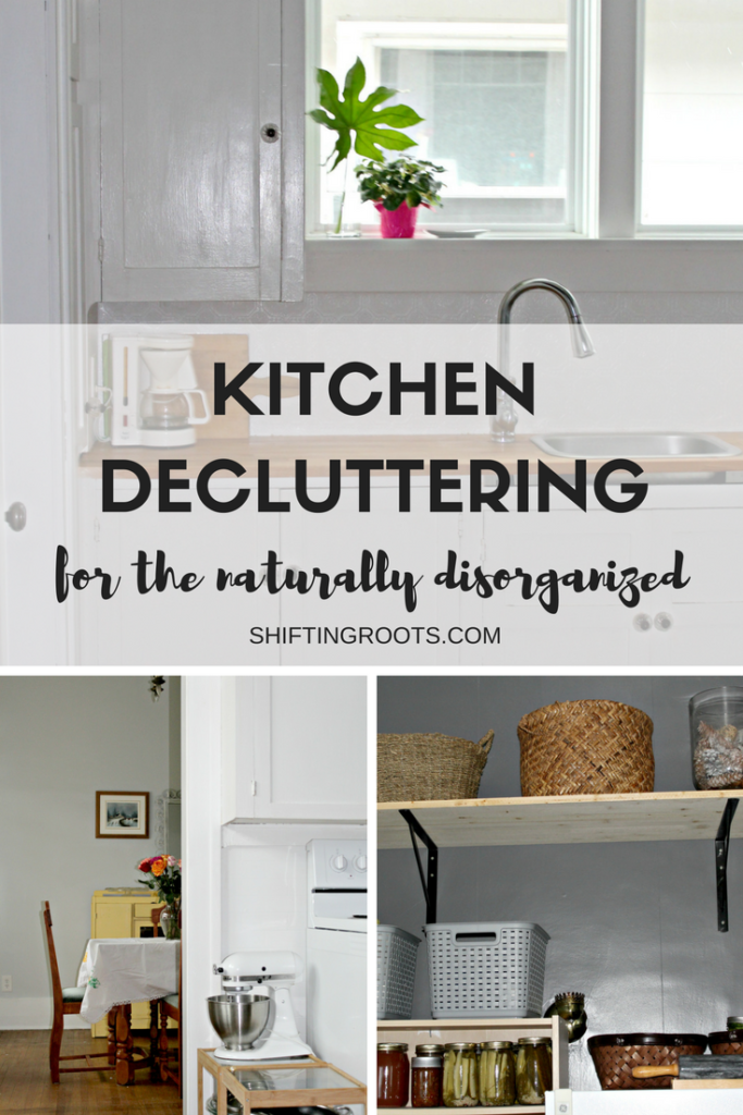 Kitchen Decluttering