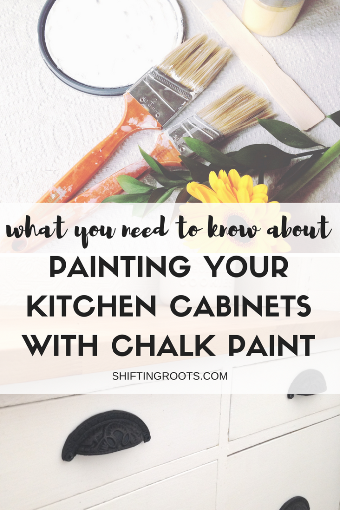Find out what you should know about chalk painting your kitchen cabinets before you take the plunge.
