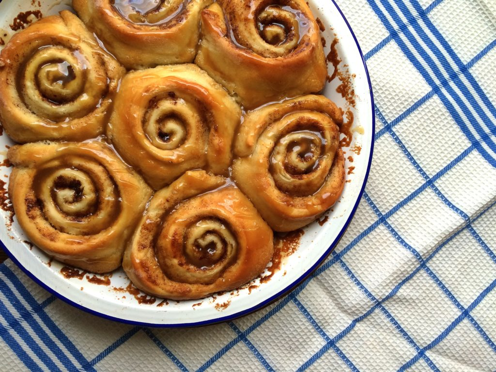 Cinnamon buns are easy to make and perfect to make ahead and freeze.