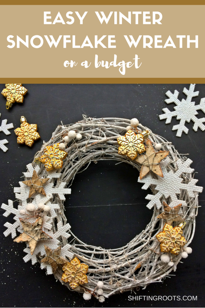 Winter Snowflake Wreath