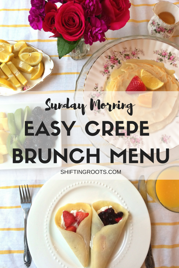 crepe brunch menu