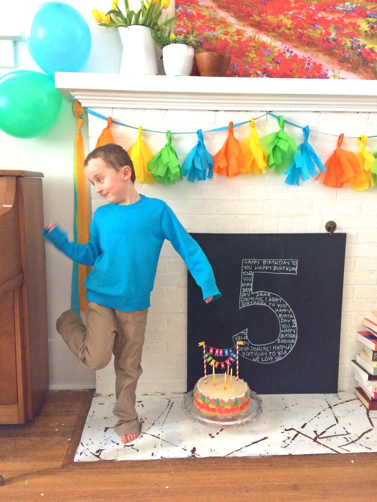 Bright and Fun Boy's Birthday Party