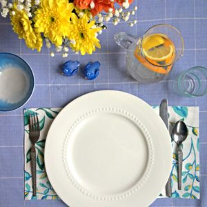 Spring & Easter Table Setting