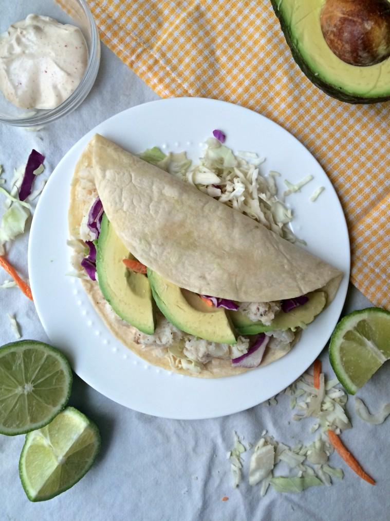 Best ever garlic lime fish tacos shifting roots for Good fish for fish tacos