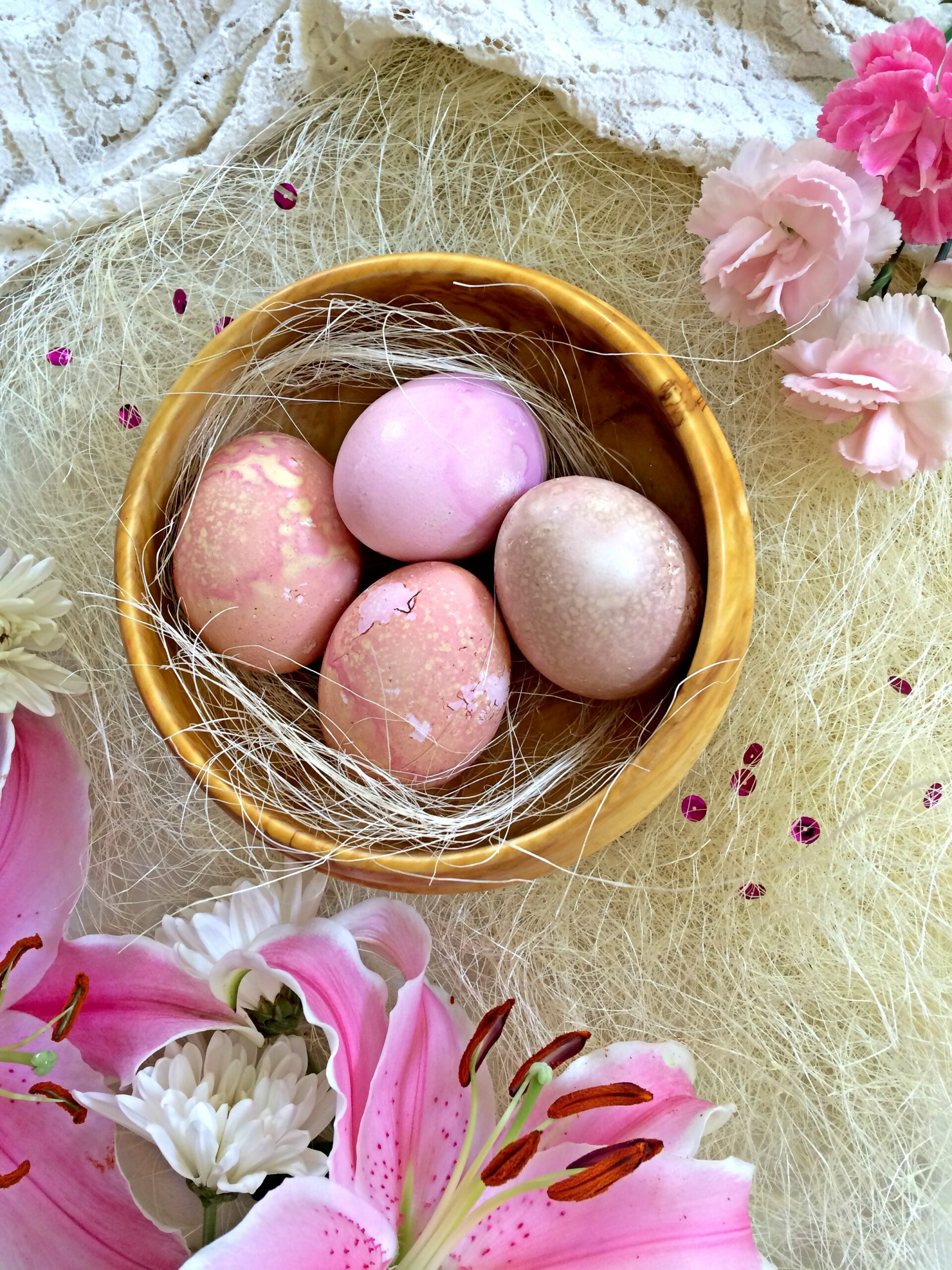 everything you need to know to make beautiful natural dyed easter
