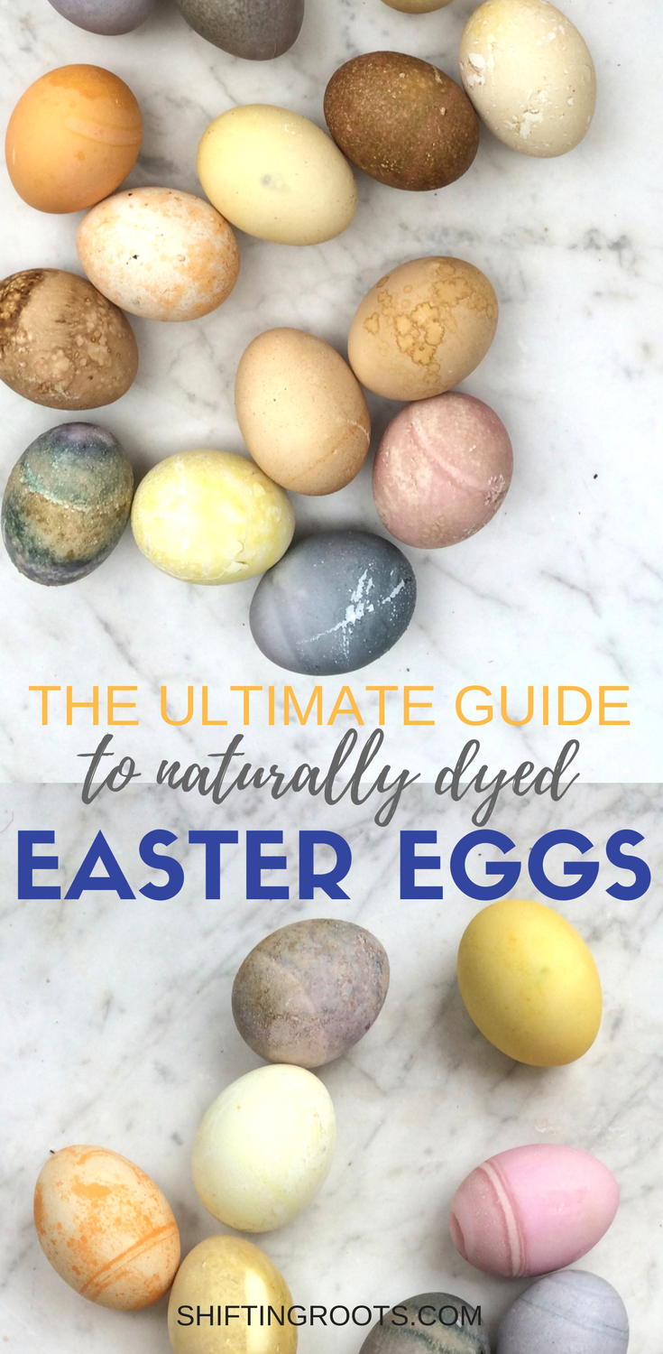Give your Easter egg decorating a natural twist and learn how to make naturally dyed Easter eggs.  A fun and creative way to decorate your hard boiled eggs this Easter.  Over 24 DIY dye ideas and recipes you can try.