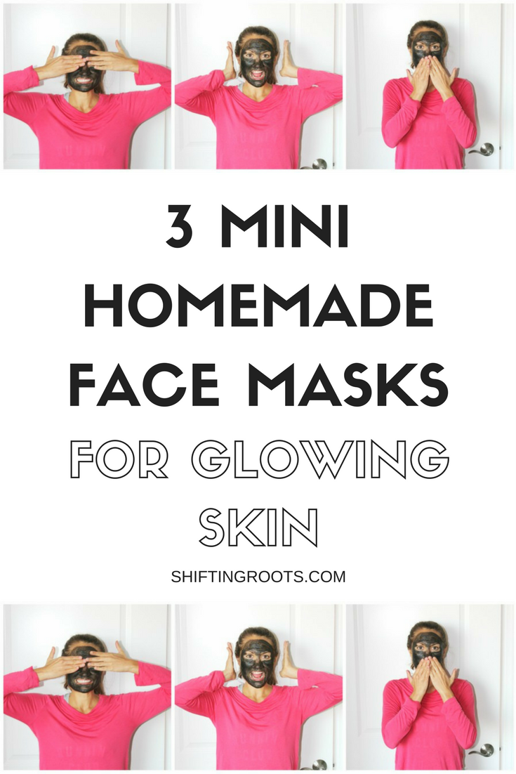 What do charcoal, turmeric, and seaweed all have in common?  They're the main ingredients in these three mini face masks for glowing skin.  An easy beauty DIY that's good for you and your zero waste lifestyle.