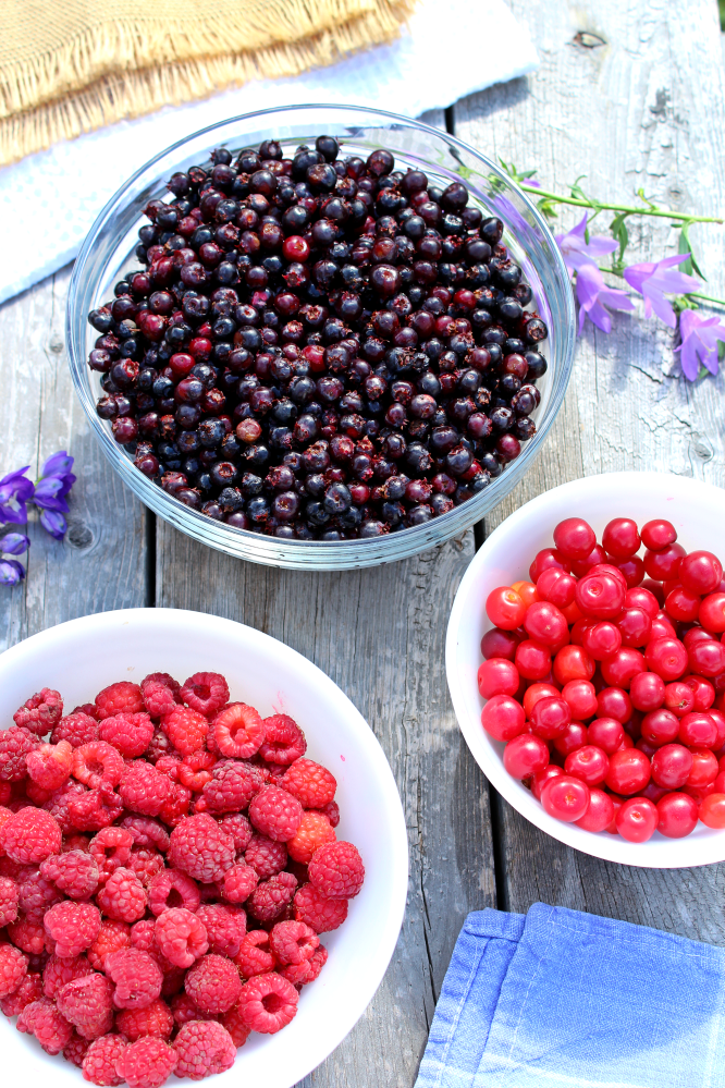 Berry Picking is so much fun, but can be a lot of work. Whether you're working with saskatoon berries, strawberries, sour cherries, or raspberries, I've got plenty of little tips and tricks to help you pick, clean and process with ease. I've also included links to some tasty recipes.