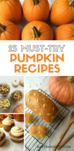 Feed your pumpkin and pumpkin spice addiction with these 25+ must-try pumpkin recipes. Breads, desserts, pumpkin seeds, main courses and pasta ideas for every taste and meal.