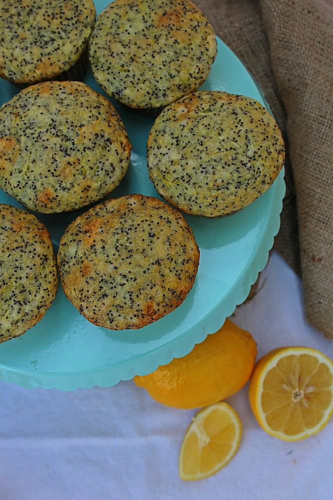Lemon poppyseed zucchini muffins are a great way to use up all your zucchini or summer squash. Serve them for back to school lunches, snacks, or even breakfast. It's such an easy recipe that you can even make it with your kids.