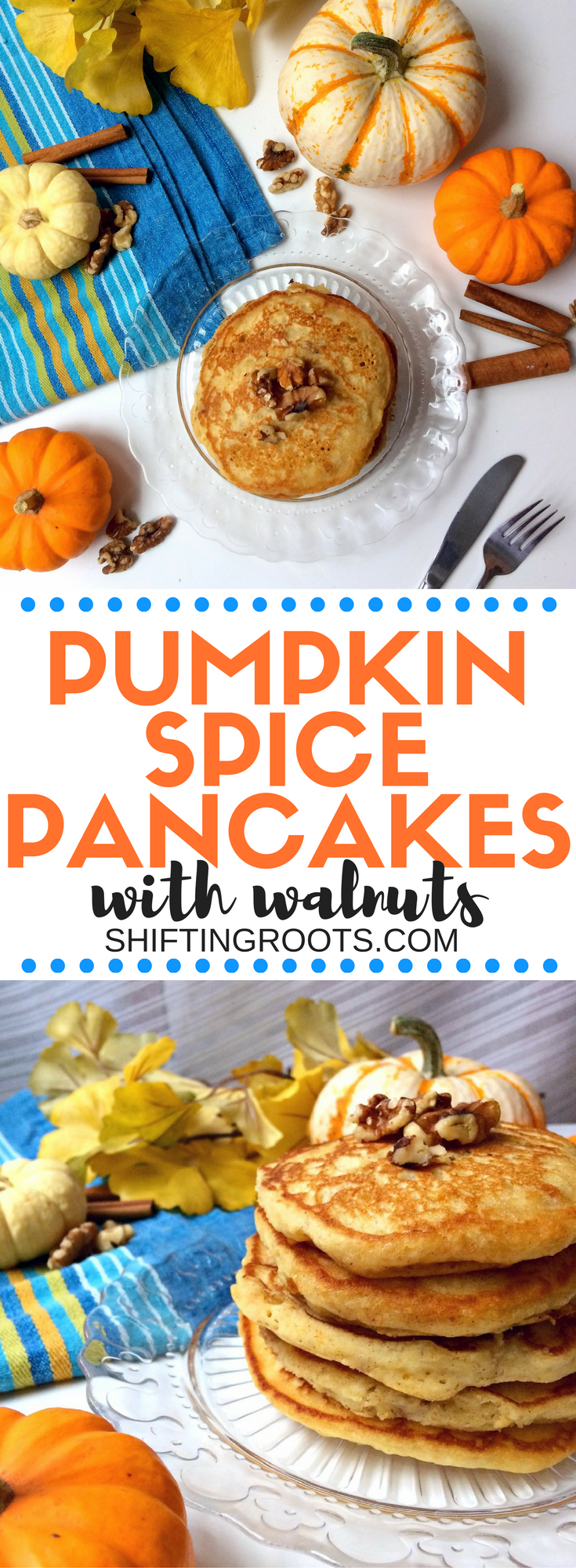 Quick and Easy Pumpkin Spice Pancakes with Walnuts ...