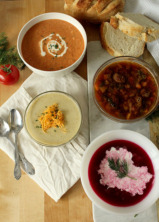 I'll admit it, my first soup without a recipe failed miserably. But now with these six simple rules I'm able to make any soup from scratch without a recipe. From tomato soup to creamy vegetable soup to chicken noodle, I have confidence that I can make something easy and tasty with a little broth and leftovers from my fridge. #soup #souping #homemadesoup #soupfromscratch #tomatosoup #chickennoodlesoup #creamyvegetablesoup #easyrecipe #lunchrecipe