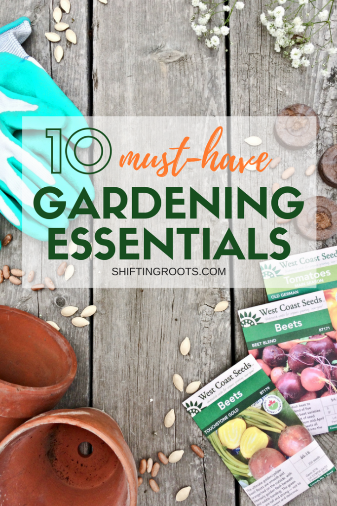 When I planted my first vegetable garden, it was hard to know what must have garden tools and products where actually worth the money. I've compiled my list of essential gardening tools for the backyard gardener with 10 items I personally use and enjoy. I've also got two picks especially for the square foot garden. #gardening #gardentools #gardenproducts #vegetablegardening #flowergardening #squarefootgarden #containergarden