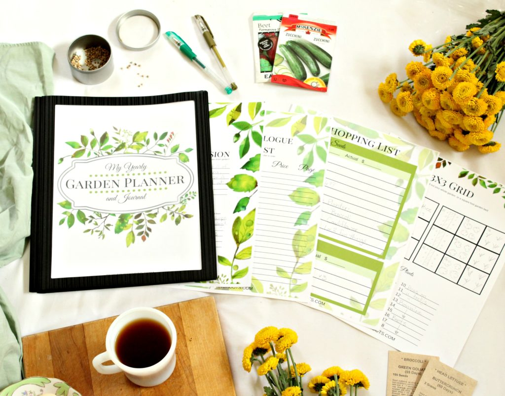Get your free garden planner to plan out your vegetables, herbs, and flowers.