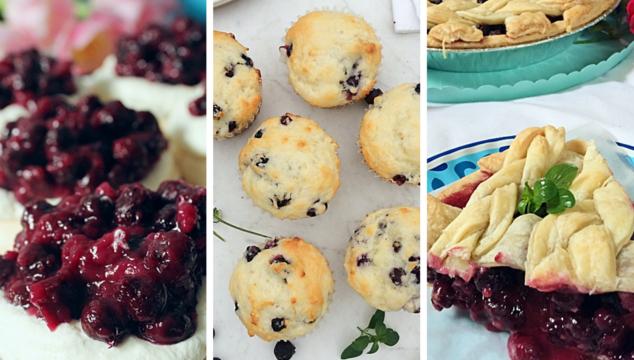 The best Saskatoon berry recipes, including pie, muffins, pavlova, cheesecake, hand pies, and crisp.