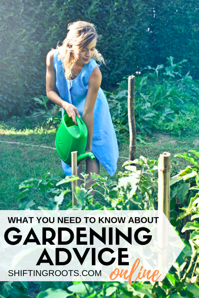 Before you follow that cool piece of gardening advice, tips and tricks, or some sort of hack, read this first and avoid heartache--especially if you're a beginner gardener planing your first garden. #gardening #advice #tips #tricks #ideas #beginner