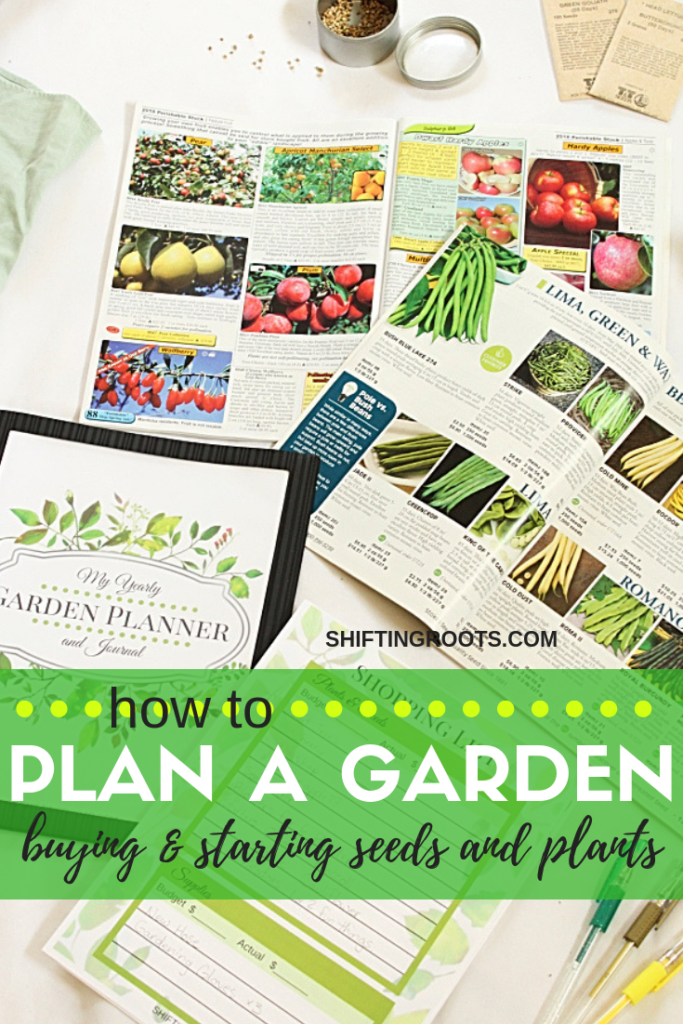 In part two of this garden planning series, we're talking about seed shopping, where to buy plants, seed starting, and the initial steps of getting your flowers and vegetables into your garden. #gardening #gardenplanning #seedstarting