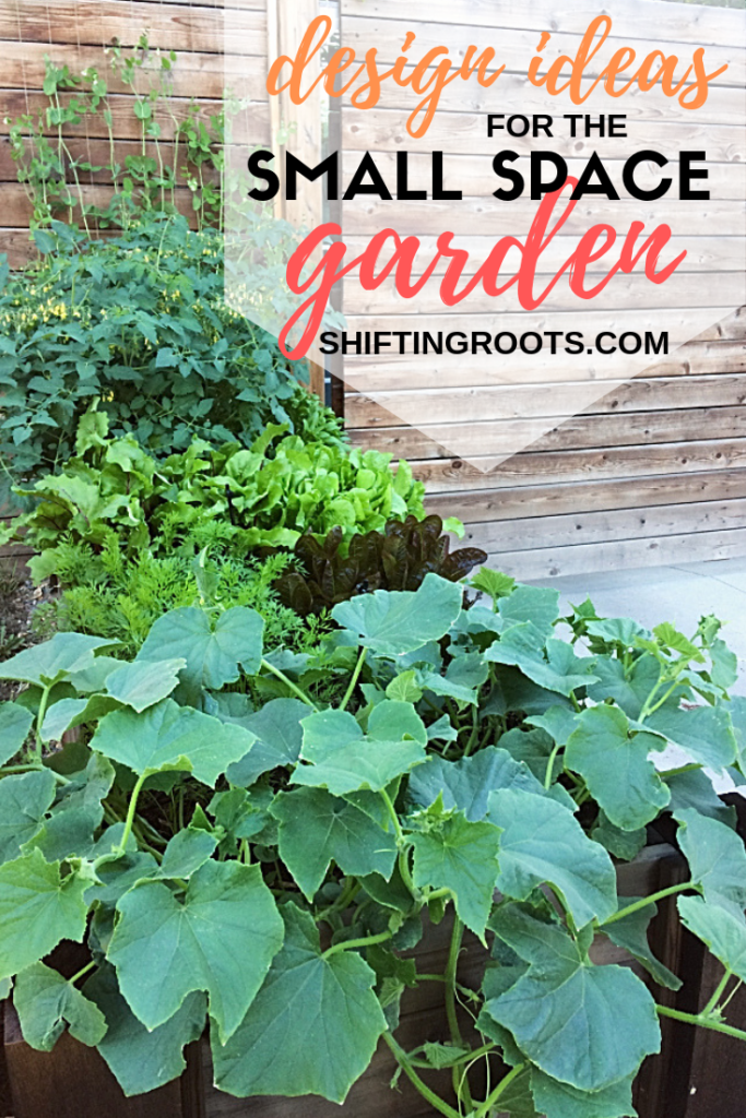 Looking for some ideas to design your patio, backyard, or other small space garden?  Here's some low maintenance ideas for growing vegetables and flowers--many of which are perfect if you're on a budget! #garden #design #ideas #onabudget #smallspace #patio #backyard