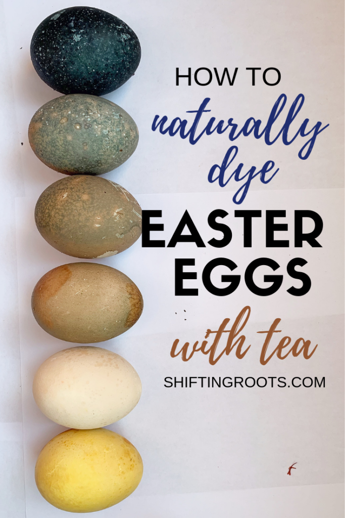 Ever wished you knew how to naturally dye easter eggs, and what exact recipe works the best?  Here's how I made DIY Easter Eggs using herbal teas!  It's such a cool decorating idea for adults, teens, or kids. #eastereggs #tea