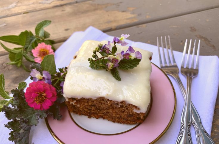 Old Fashioned Beet Cake