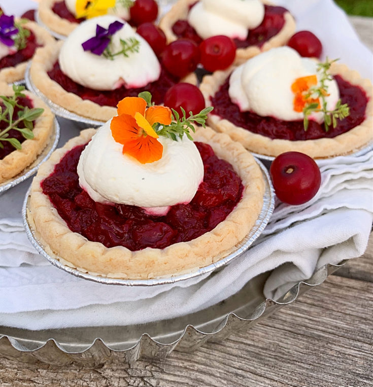 Easy Sour Cherry Tarts