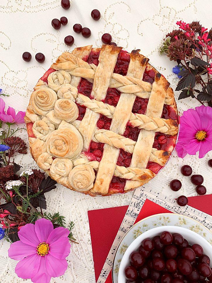 Irresistible Sour Cherry Pie