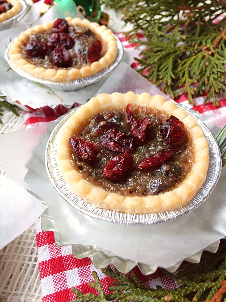 Cranberry Butter Tarts