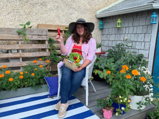 Relaxing-with-my-vegetables-in-the-container-garden-room