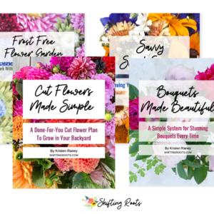 4 ebooks on cut flowers